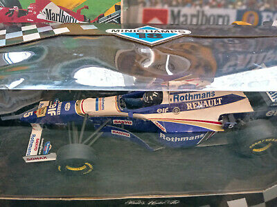 Minichamps 1/18 Williams FW18 Damon Hill 1996 World Champion  Rothmans  • 159.99£