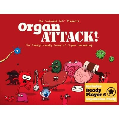 Adult Party Cards Game Organ ATTACK! Board Funny Game • 13.95£