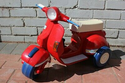 Chicco 500 S Vespa Style Children's Toddler Ride On Scooter Mod Ska Retro Rare • 74.95£