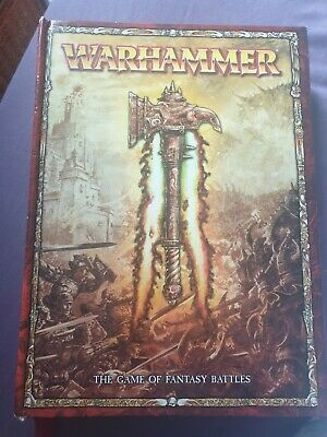 Warhammer Fantasy Battle 8th Edition Rulebook Hardback Games Workshop  • 35£