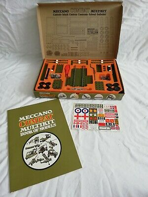 Vintage Meccano Combat Multikit With Instructions & Stickers Boxed C 1970's • 29.75£