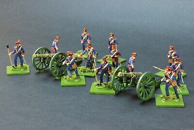1/72 Scale HaT FRENCH LINE ARTILLERY Napoleonic Very Nicely PAINTED  • 30.79£