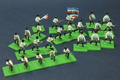 1/72 Scale Painted FRENCH INFANTRY Napoleonic 24 Figures • 29.03£