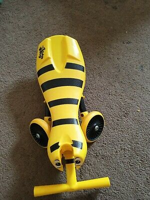 Scuttlebug Bumblebee Ride On Toy - Yellow/Black • 9£
