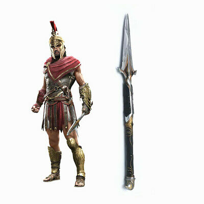 22  Assassin's Creed Odyssey Cosplay PVC Broken Spear Of Leonidas  With Box • 18.99£