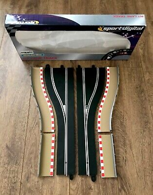 Scalextric C7015 Right Hand Digital Pit Lane Complete. ( Boxed). • 0.99£