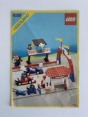 Vintage 1980's Lego 6381 Legoland City Town Instructions Only • 6.95£