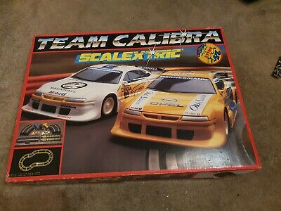 Scalextric Set Used Full Set Of Track And Cars. • 10£