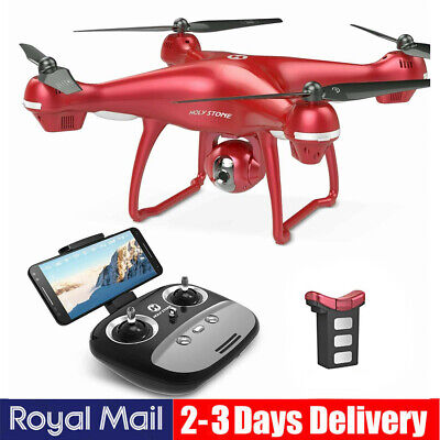 Holy Stone GPS FPV RC Drone HS100G With 1080p HD Camera 6-Axis Selfie Quadcopter • 139.99£