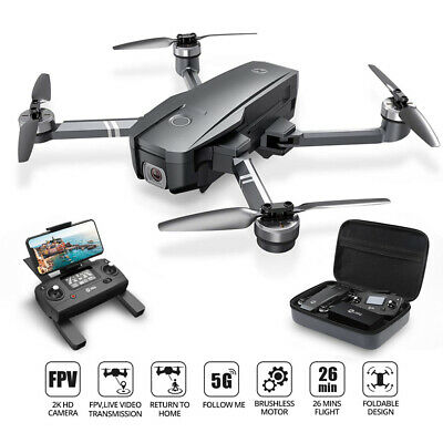 Holy Stone HS720 Foldable GPS Drone With 2K HD Camera Brushless Quadcopter +CASE • 169.99£