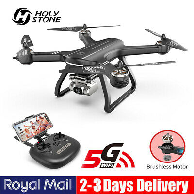 Holy Stone HS700D FPV RC Drone With 5G 2K HD Camera RC Quadcopter GPS Auto Home • 189.99£