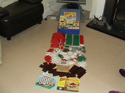 Bayko Building Set 4 With 2 Manuals (complete) • 90£