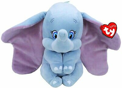Official Ty Beanie Babies 6  Disney Dumbo Sparkle Collection With Sound 41095 • 10.99£
