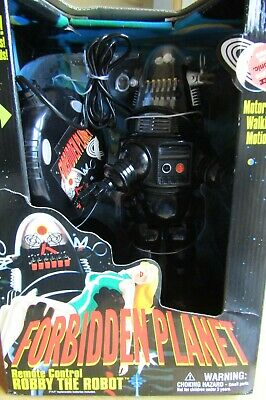 ROBBY THE ROBOT Forbidden Planet 1999 Issue Remote Control Trendmasters • 99£