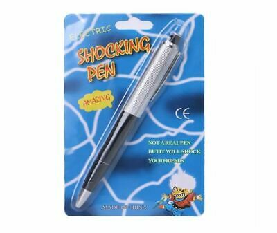 Practical Joke Electric Shock Pen Gag Prank Funny Trick Fun Toy Gift April Fool • 2.19£