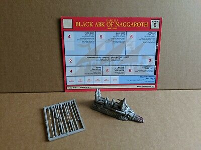Man O'war Dark Elf Black Ark Of Narggaroth • 65£