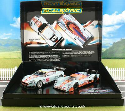 Scalextric C3055A Aston Martin Racing Gulf Ltd Ed. Brand New Unrun, Mint & Boxed • 95.95£