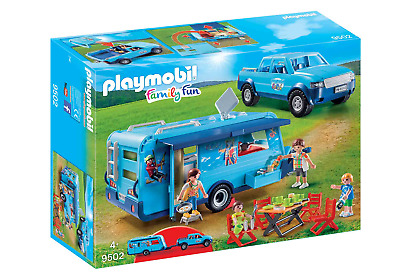 Playmobil 9502 FunPark Pickup With Camper • 17£