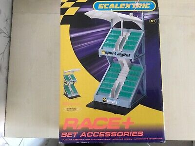 Scalextric C8320 Race + Spectator Grandstand Boxed New • 21.55£