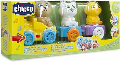 Chicco Children's Animal Train Learning Toy For Kids (Battery, AAA) - 007512 • 26.95£