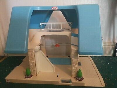Vintage Little Tikes Dolls House Grand Mansion Toy • 24.99£