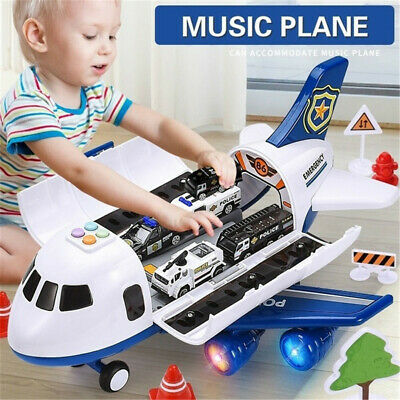 Childrens Toy Aircraft Large Size Passenger Plane Kids Air Freighter Toy Car • 24.99£