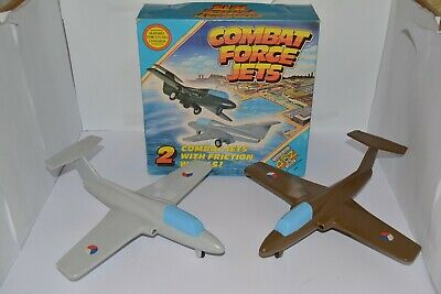 Rare Vintage Padgett Brothers A To Z 2 Conbat Force Jets Friction Power Wheels • 29.99£