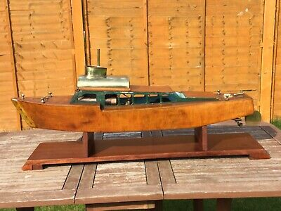 Model Boat Live Steam Vintage Launch • 995£