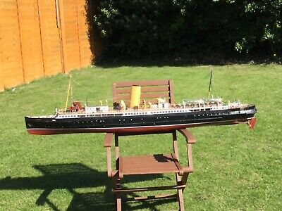 Model Boat St Tudno A Liverpool Steamer With Electric Motors  • 395£