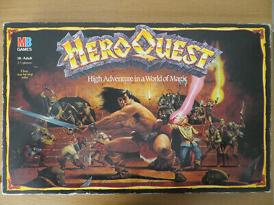 Hero Quest Board Game With Return Of The Witch Lord Expansion • 90£