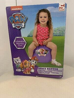 Paw Patrol Purple Ball Space Hopper Inflatable Toy-NEW ( Damaged Box ) • 7.95£