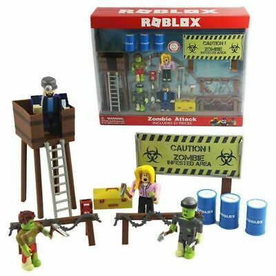 Roblox Zombie Attack Action Figures Playset 21Pcs Toy Birthday Xmas Gift Set New • 14.88£