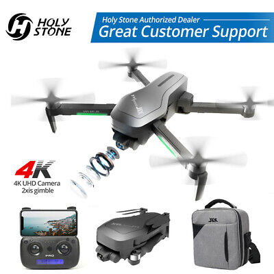 HolyStone HS470 RC Drone With 4K UHD 2-Axis Gimbal Camera Foldable GPS Brushless • 179.99£