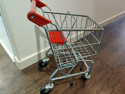 Childrens Metal Shopping Trolley - Melissa & Doug - Role Play - Play Food-cooker • 20£