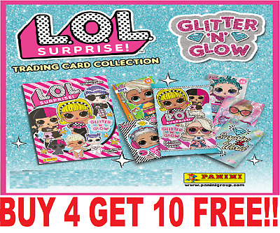 Panini Lol Surprise Glitter N Glow ☆ Single Cards ☆ Buy 4 Get 10 Free!   (2020) • 0.99£