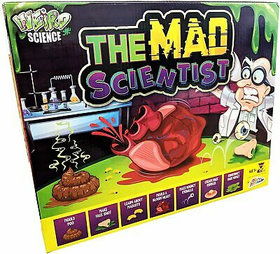 Weird Science The Mad Scientist Kit Eight Fun & Educational Experiments For Kids • 7.49£