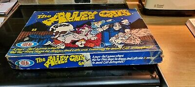 VINTAGE BOARD GAME – The Alley Cats By Ideal Circa 1970's • 30£