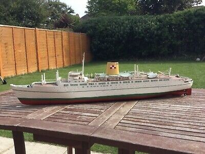 Model Boat Empress Of England  Passenger Ship With Electric Motors  • 195£