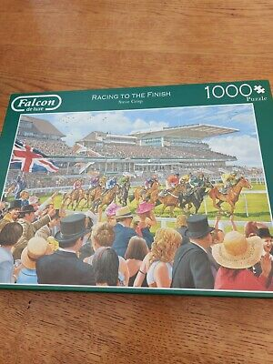 Racing To The Finish - De Luxe 1000 Piece Jigsaw Puzzle  • 1.99£