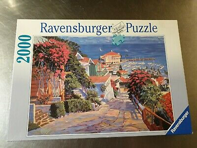 Ravensburger 2000 Piece Jigsaw Puzzle  The Coast  The Road To The Harbour By Joh • 5£