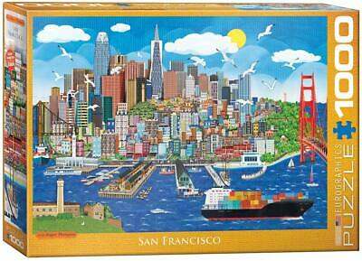 1000 Piece Puzzle San Francisco Done Once Excellent Condition Eurographics • 10.99£