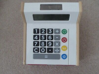 IKEA Toy Cash Register Till Wooden Toy • 12.99£