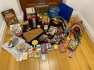 Job Lot Vintage Games And Toys 1970s 1980s Loft Find Wall E Top Trumps Wooden • 2.20£