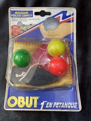 Obut - Kit For Petanque Player - French - New - Boules • 19.99£