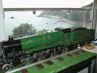 LIVE STEAM 3 1/2 Inch GAUGE LOCOMOTIVE &TENDER MODEL 4-6-0 GWR COUNTY OF OXFORD  • 3,425£