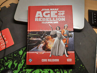 Star Wars RPG: Age Of Rebellion - Core Rulebook. Good Condition • 16.22£