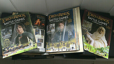 Lord Of The Rings Battle Games Magazines LOTR Games Workshop Deagostini • 55£