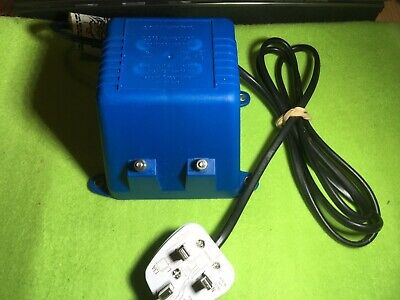 Vintage Scalextric Transformer 12v Power Pack Blue C918 - Tested And Working. • 4£