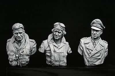 1/9 WWII Fighter Ace V-bust Set, RAF, USMC And Luftwaffe  • 55£