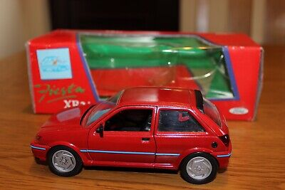FORD FIESTA XR2i Schabak Modell RED Very Good Condition BOXED • 7.50£
